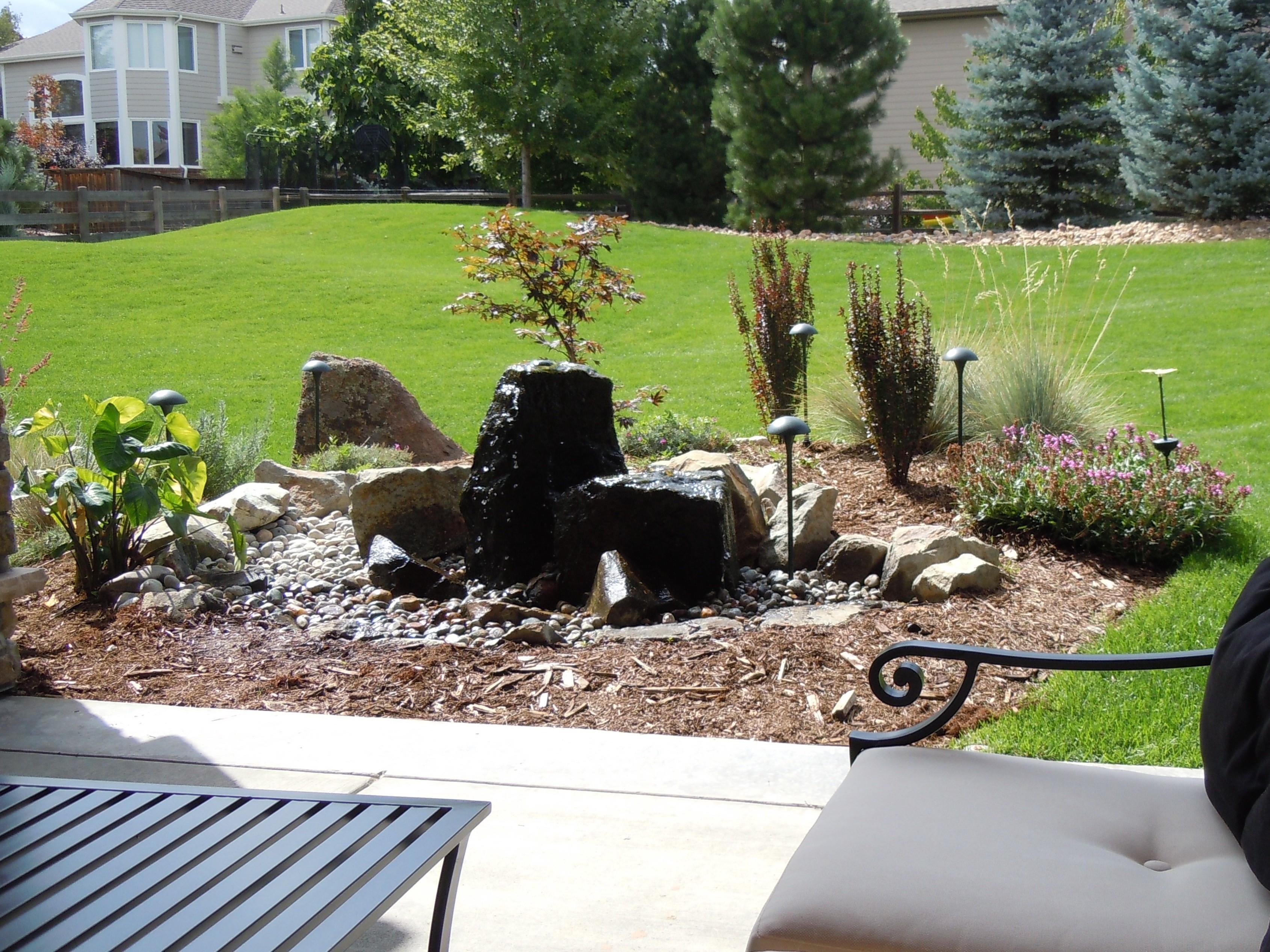 Landscape lighting dunlap electric for Lawn landscaping